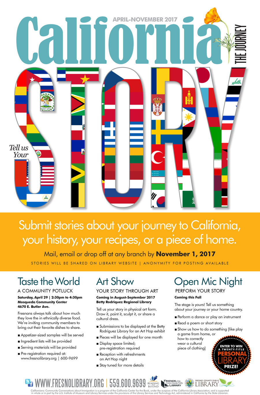 Tell-Us-Your-Story-Calif-Journey-Poster