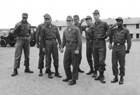 Petrick and some of his fellow soldiers
