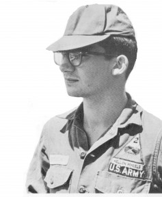 Howard Petrick as a young soldier
