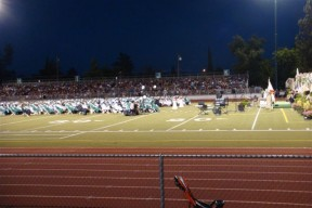 View of the RHS graduation from the stands