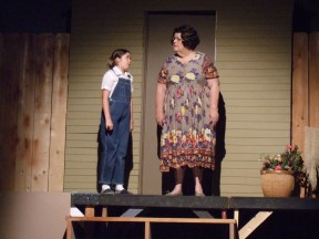 Hannah Suggs (Scout) and Pat Jansen (Miss Maudie)
