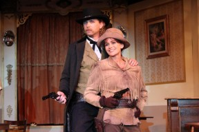 Bill Hickock (Brian Pucheu) & Calamity (Louise)