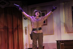 Louise Mandrell as Calamity Jane