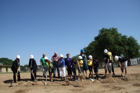 Groundbreaking of health center
