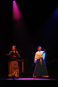 "Catriona Fray (Lucy) & Haylee Cotta (Emma) singing ""In His Eyes"""