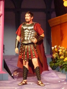Terry as Miles Gloriosus in Forum with COS