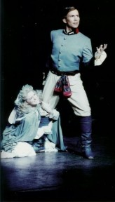 Terry as Frederic in The Pirates of Penzance with Mary Webster as Mabel at CSUF Theater