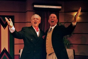 Terry on the right in Lend Me A Tenor