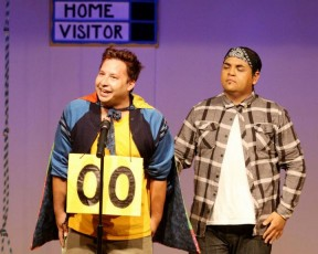 Leaf (Henry) and Counselor Mitch Mahoney (Cristian Duran)