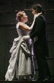 Amber Lewis (Emma) and Bryce Moser (Jekyll)