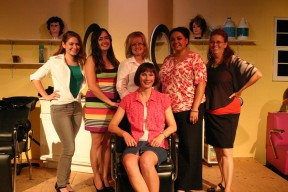E & e cast of Steel Magnolias