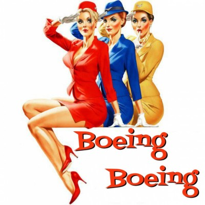 Boeing boeing takes farcical flight at college of the for Farcical characters