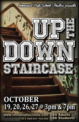 up the down staircase essay The text under analysis is a fragment from the novel «up the down staircase»,  written by bel kaufman, an outstanding american writer.