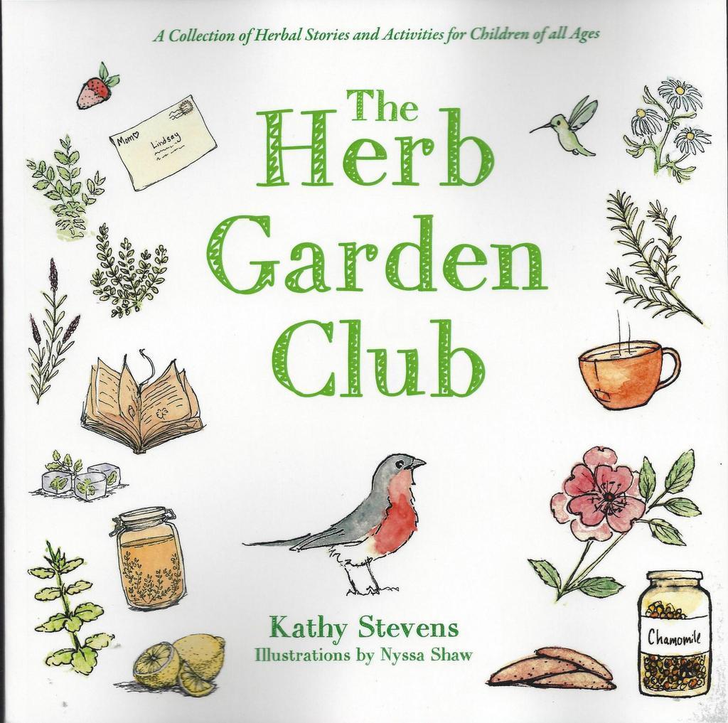 The herb garden club kings river life magazine for Garden club book by blackbird designs