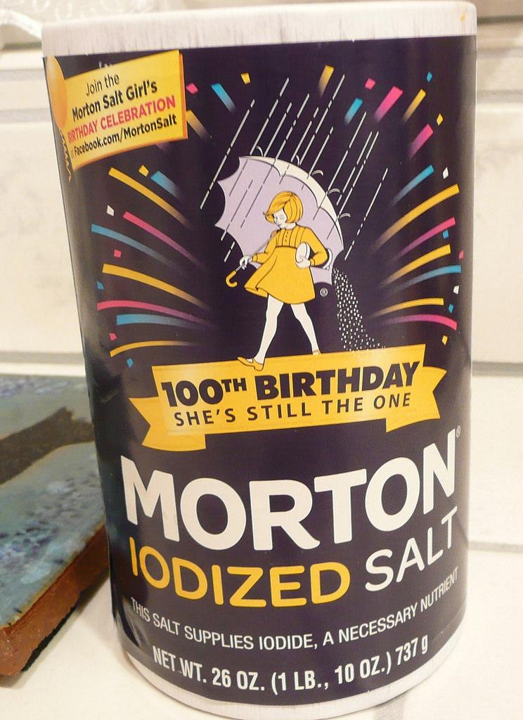 Salt. 2014 Morton Salt Box