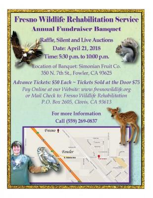 fresno wildlife service banquet flier