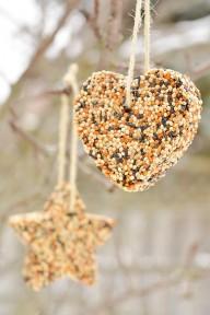 bird seed ornament