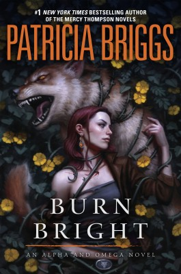 BurnBright by Patricia Briggs book cover