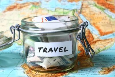 money jar for travel