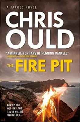 fire pit mystery book cover