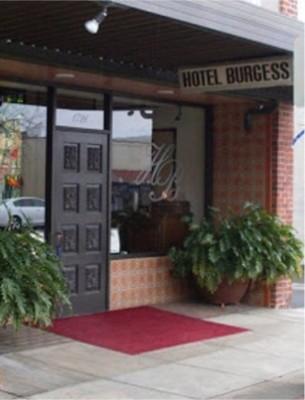 hotel burgess front door