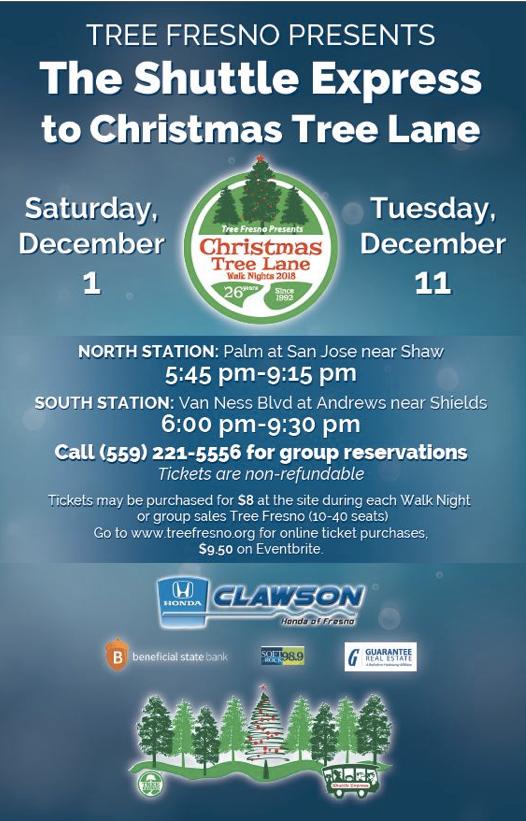 The Holiday Magic Of Fresno S Christmas Tree Lane Kings River Life