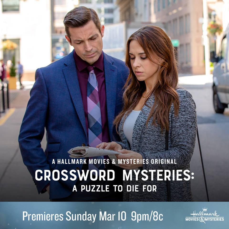 Crossword Mysteries: A Puzzle To Die For On Hallmark
