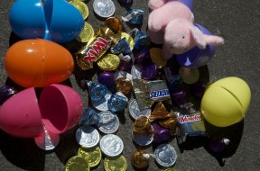 coins and eggs