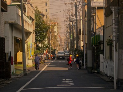 japanese street scene