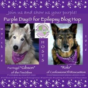 Badge Purple Day Blog Hop