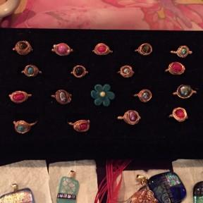 Unique rings & necklace pieces!
