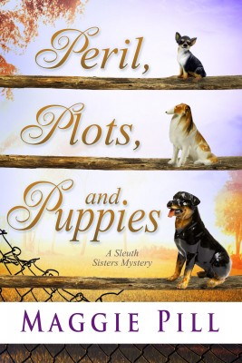 Peril Plots and Puppies book cover