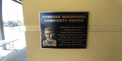 Donovan Maldonado plaque