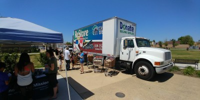 habitat for humanity truck