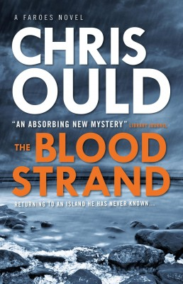 Blood Strand mystery book cover