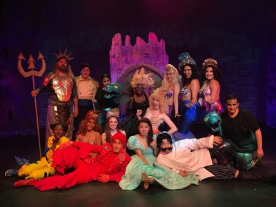 cast of little mermaid