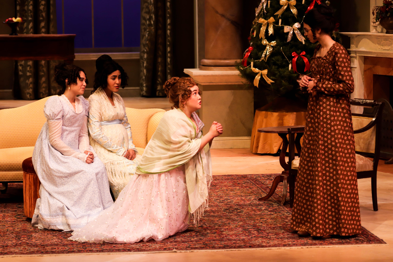 Miss Bennet Christmas At Pemberley.Miss Bennet Christmas At Pemberley On Stage At Fresno State
