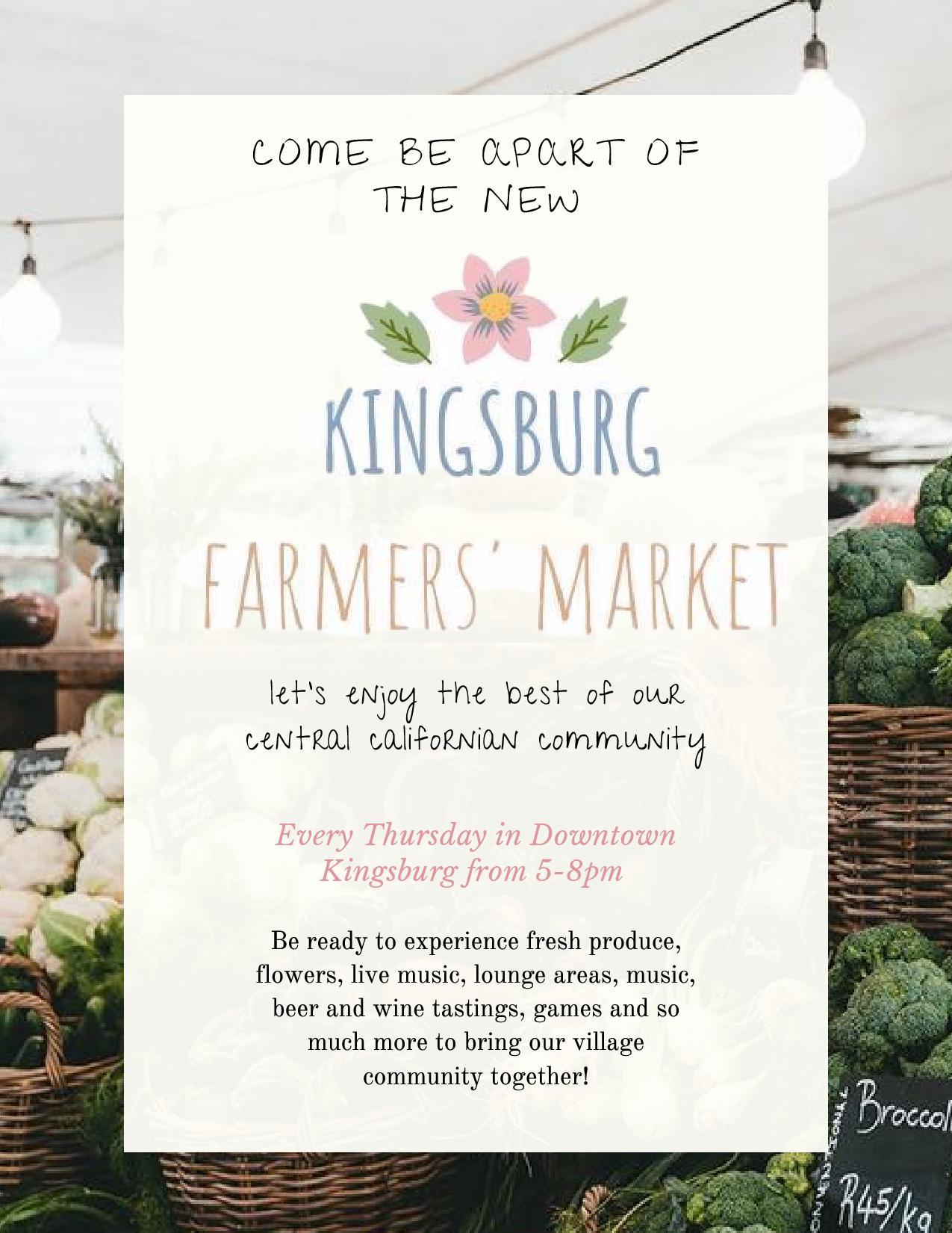 farmer's market kingsburg
